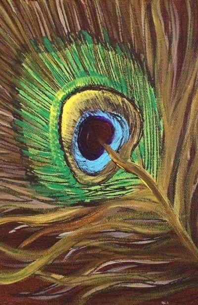 Mrs. Peacock Art Print