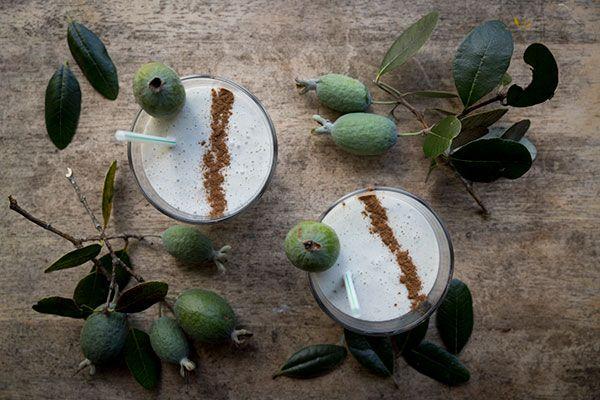 Feijoa breakfast smoothie – Recipes – Bite