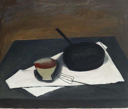 William Scott b. 1913 -The Frying Pan, 1946