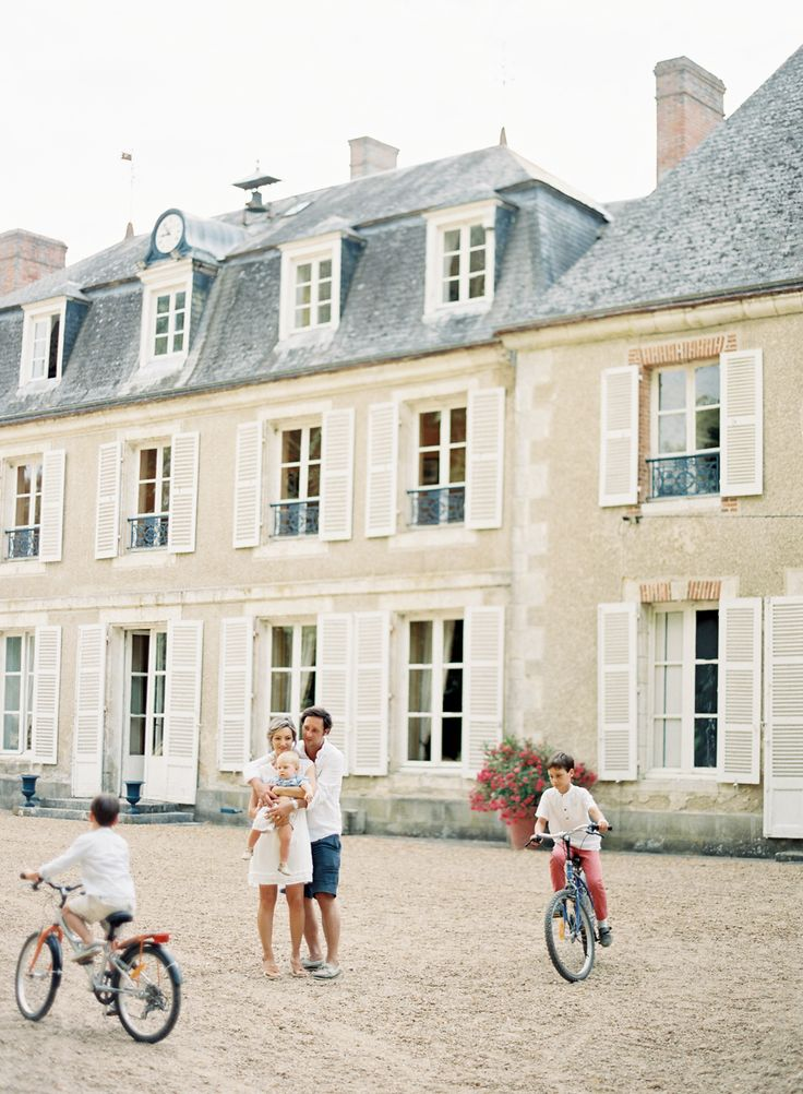 Vicki Grafton Photography | Paris France Chateau Family Lifestyle Session | Fine Art Film Photographer | Styling by Ginny Au | The Artist Holiday | Chiali Meng Hair and Makeup | Chateau de Bouthonvilliers
