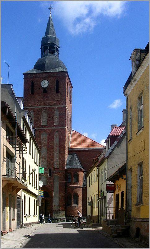 Streets of Biskupiec - Biskupiec, Warminsko-Mazurskie