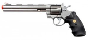 TSD Sports 8-Inch Barrel Spring Powered Airsoft Revolver Review And Lowest Online Price