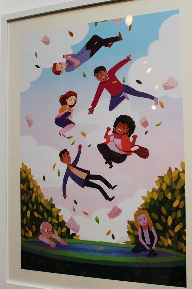 COMMUNITY - Art From Six Seasons and a MovieShow - News - GeekTyrant