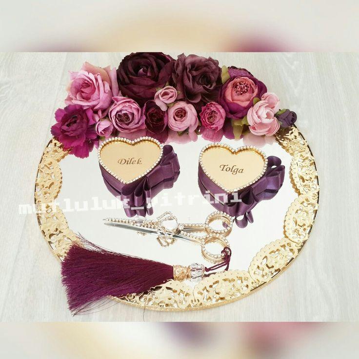 #soztepsisi #nisantepsisi #yuzukyukseltisi #sozmakasi #nisanmakasi #wedding #seramoni #ceremony #verlobung #engagement #yuzuktepsisi #ringtray #bride #swarovski #rings