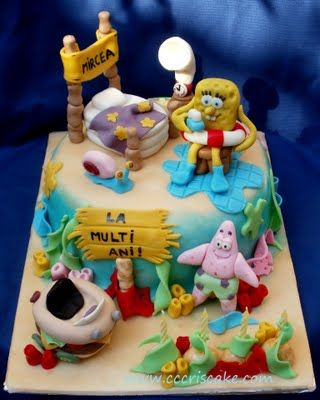 Torturi artistice: Spongebob
