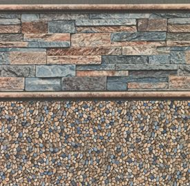 Stacked Stone Tile Aboveground Pools Buchmyers Pool In York Hanover Pa Home Backyard 2018 Pinterest Liners Above Ground And