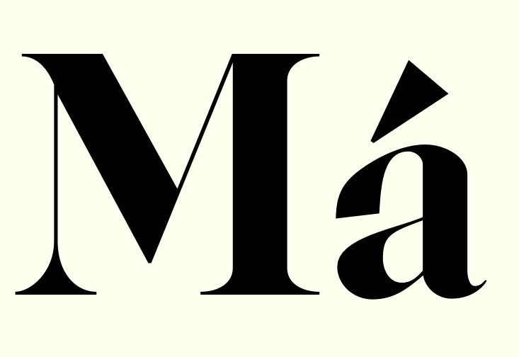 Different type of Caslon / In progress