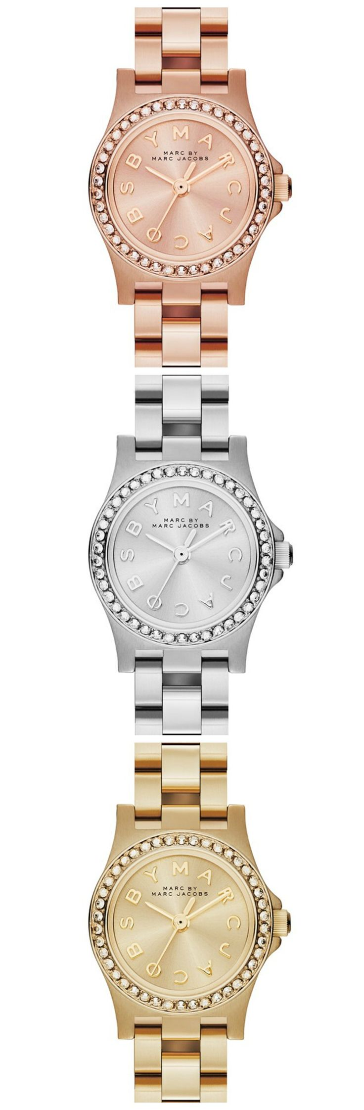 Shiny, Marc by Marc Jacobs watches.