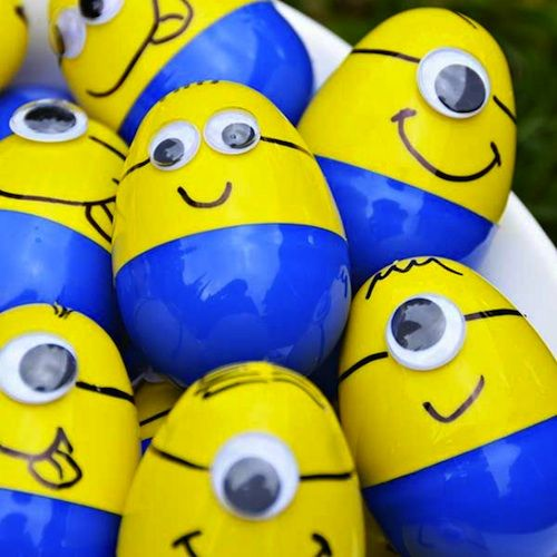 Huevos de pascua de los Minions de Gru!