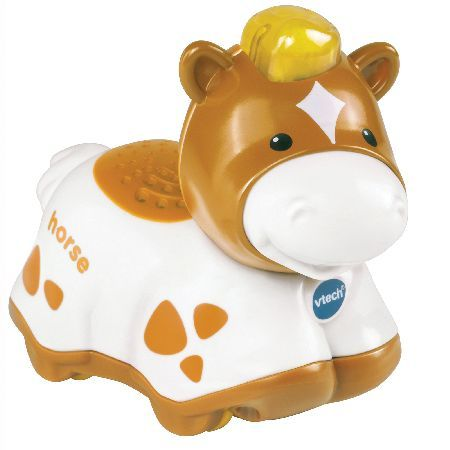 Vtech Toot-Toot Animals Horse Have fun with the VTech Toot-Toot Animals Horse. Featuring lots of fun phrases and animal and nature sound effects!. The VTech Toot-Toot Animals Horse includes 3 sing-along songs and 6 melodies.Requir http://www.MightGet.com/may-2017-1/vtech-toot-toot-animals-horse.asp