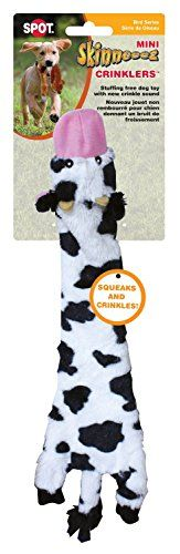 Ethical Pets Skinneeez Crinklers Cow Dog Toy, 14-Inch | Dog Supplies - Warning: Save up to 87% on Dog Supplies and Dog Accessories at Our Online Pet Supply Shop