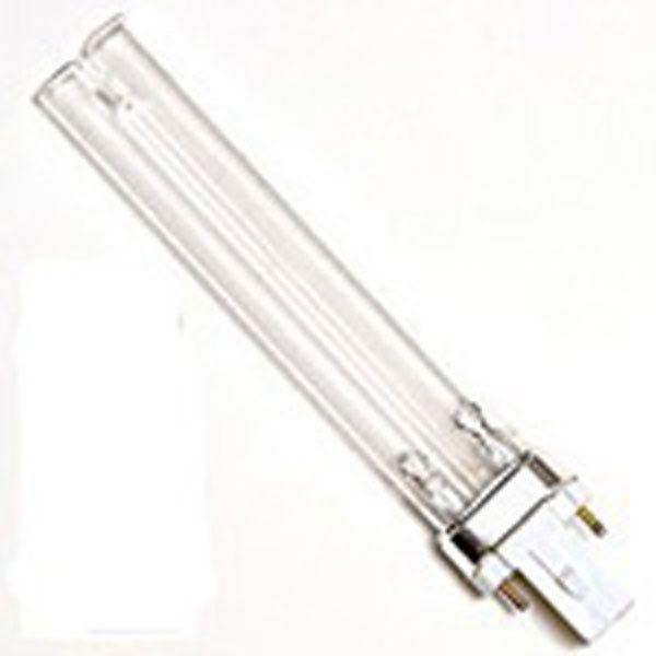 ** Precio 12,95€ ** Luz ultravioleta (UVC) Luz UV-C ayuda a obtener un agua de estanque puro y limpio.Es una manera segura y eficaz para eliminar patógenos y algas unicelulares.Potencia 9W