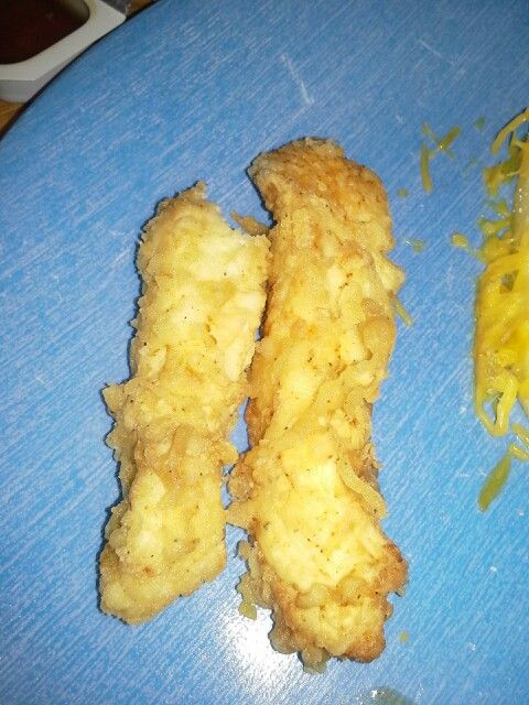 Homemade chicken strips#Healthy recipes with chicken breast strips