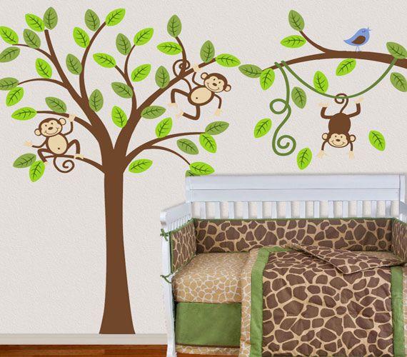 more monkey tree ideas and bird