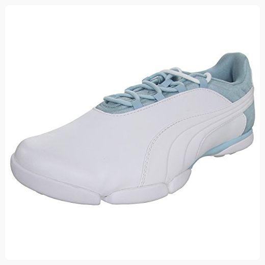 Puma Damen sunnylite V2 Golf Schuh  6 B(M) USWhite/Cool Blue/Gray Violet