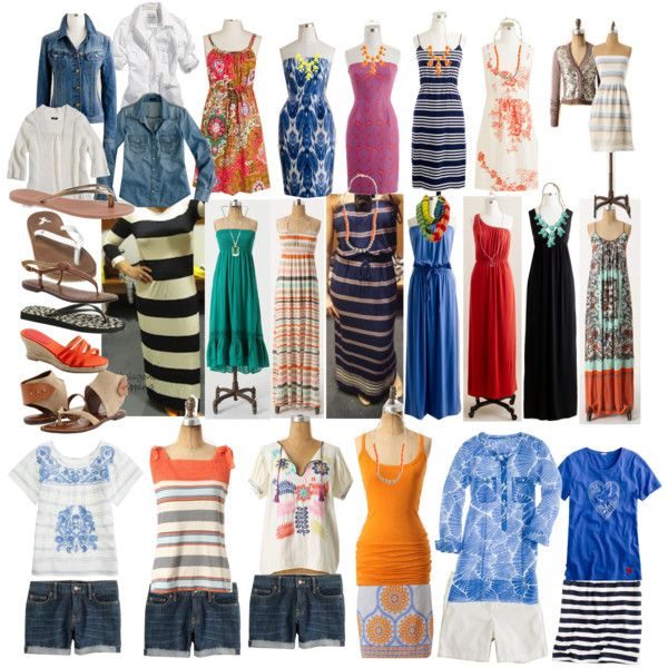 I found my outfits for Hawaii!! all packed and no thinking..