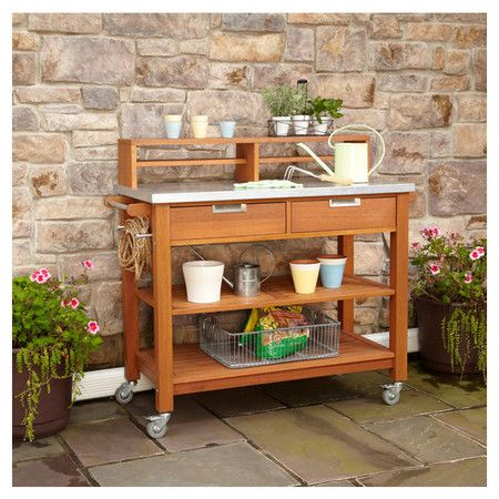 Potting Bench Gardening Pinterest
