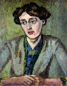 "Adeline Virginia Woolf  was an english writer. Her most famous works include the novels Mrs Dalloway (1925), To the Lighthouse (1927) and Orlando (1928), and the book-length essay A Room of One's Own (1929), with its famous dictum, ""A woman must have money and a room of her own if she is to write fiction.""  (A portrait of Virginia Woolf by Roger Fry)"
