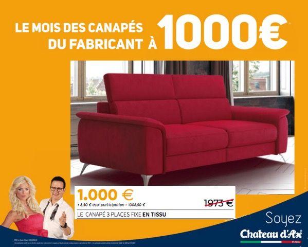 Chez Chateau D Ax C Est Parti Pour Le Mois Des Canapes A 1000