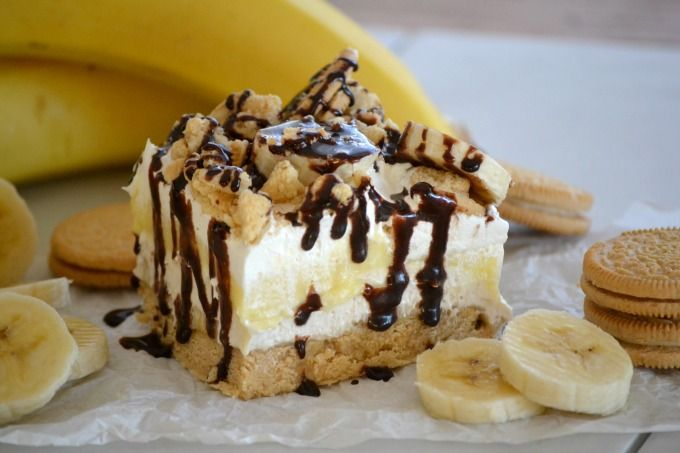 Banana Pudding Dream Bars