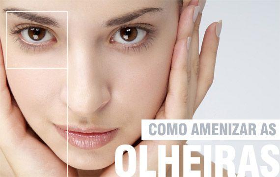 Como amenizar olheiras e inchaço dos olhos