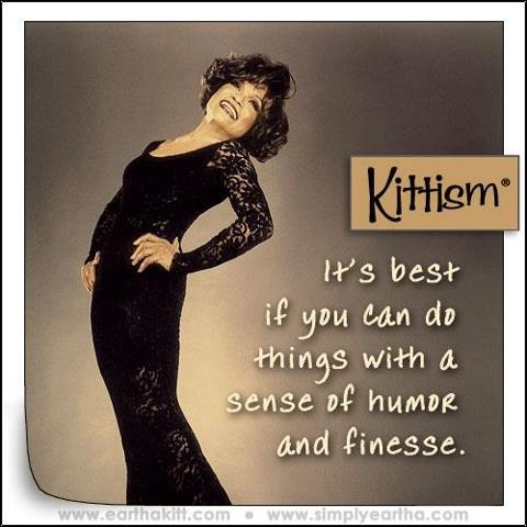 kittisms (quotes by Eartha Kitt, as curated by her daughter)