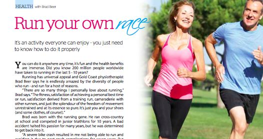 Run Your Own Race Article | GetIt Magazine