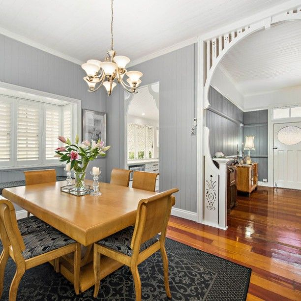 This HollandPark, QLD, home oozes luxury and quality.  #shadesofroombyroompaintcolours #bellepropertyau