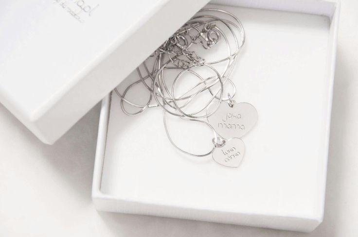 Wyjątkowy zestaw biżuterii dla mamy i córki 💕 Grawer : jaka mama taka córka 💖