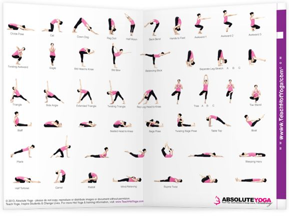 Best 25 Yoga Poses Chart Ideas On
