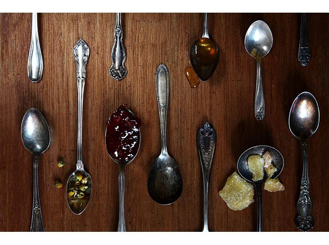 This is a good example of rhythm. They are all spoons but what make rhythm stand out most would be how everything is arranged. The spoons are arranged in different directions and are all also different kinds of spoons and that's what also makes this picture unified. Even thought each spoon is different and have something different on it, it has a spoon type of rhythm