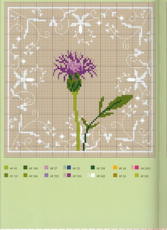 Cross-stitch Thistle...   Gallery.ru / Фото #57 - Вышивка 49 - kuritsa-kusturitsa