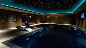 Swim midnight | 26 Salas de cines caseros que desearías tener