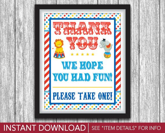 Best Circus Birthday Party Images On   Circus