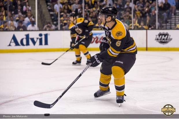 WADE REDDEN!! <3 Player of the Game: Bruins-Maple Leafs Game 1