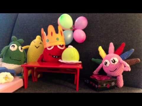 Babblarna firar Bobbos födelsedag - YouTube