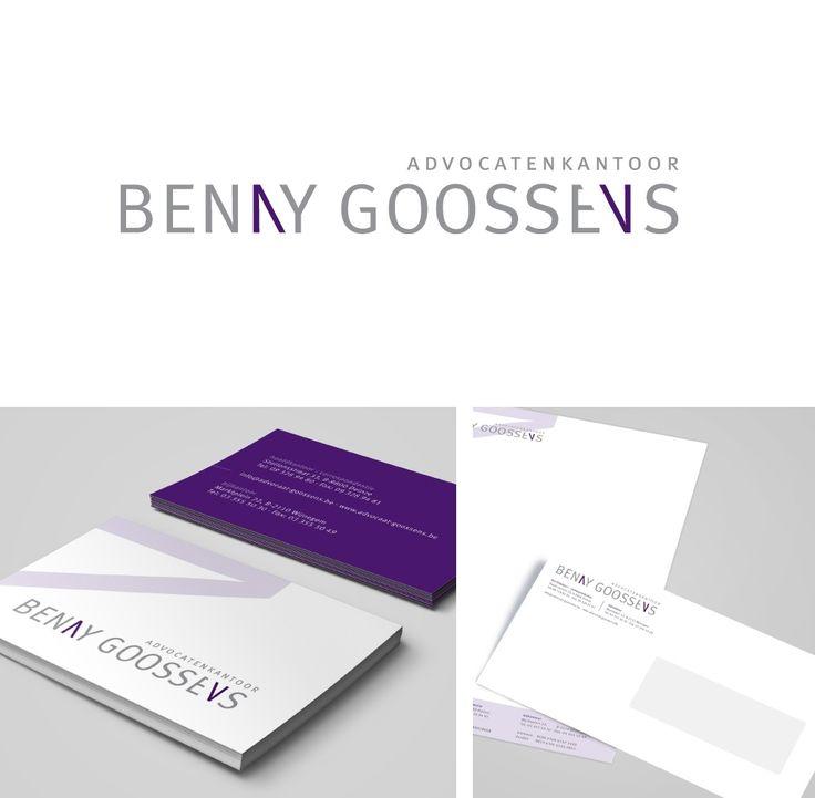 advocaat Benny Goossens logo & huisstijl