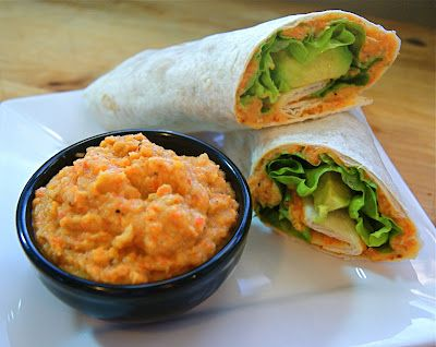 Red Lentil and Roasted Carrot Spread | Seasonal & Savory
