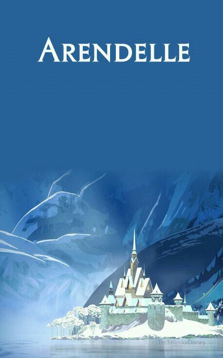 Disney Locations - Arendelle - Elsa and Anna's Kingdom - The land in which the story of Frozen takes place
