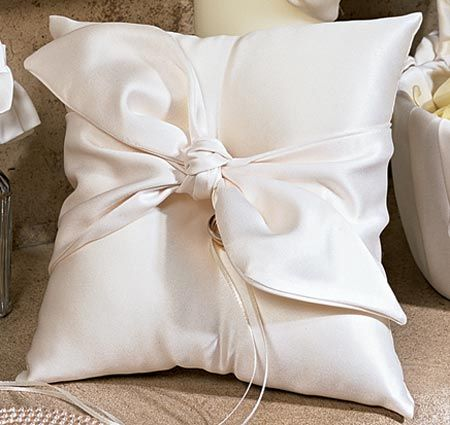 Love Knot Ring Bearer Pillow
