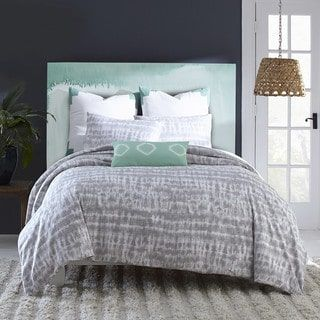 Shop for Amy Sia Artisan Grey Duvet Cover. Get free shipping at Overstock.com - Your Online Fashion Bedding Outlet Store! Get 5% in rewards with Club O! - 19643182