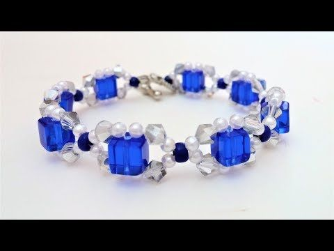 How to make your own beautiful bracelet step by step. DIY tutorial instructions - YouTube