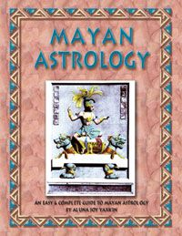 User Friendly Guide to Mayan Astrology by Aluna Joy Yaxkin: MAYAN ASTROLOGY. Influenced by leading modern day Mayan Astrology researchers like Arguelles, Spilsbury, Scofield & Thundercloud. Features full length interpretations of the 20 Mayan glyphs & 13 numbers that came with years of observing & journaling the days.Includes decoding tables to convert birthdates, worksheet examples & more. For readings, divination, deeper relationship understanding & future prophecy.