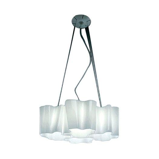 Artemide Logico 4 Light Shaded Chandelier