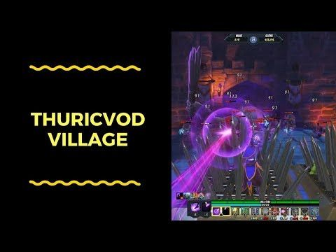 Orcs Must Die! Unchained: War Mage-Thuricvod Village - YouTube