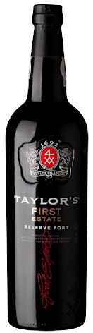 Taylor's First Estate Reserve Ruby. Gamme actuelle.
