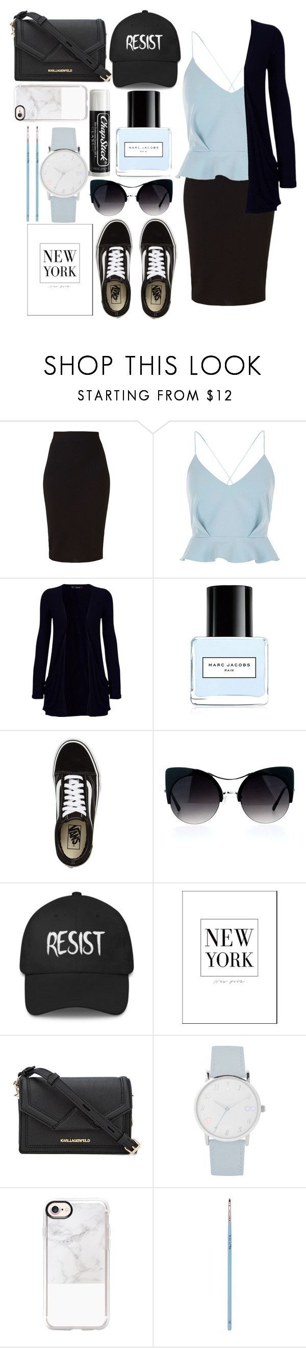 """""""Resist."""" by rhianna-alexandre on Polyvore featuring Winser London, River Island, WearAll, Marc Jacobs, Vans, Chapstick, A.X.N.Y., Casetify and My Kit Co."""