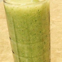 Lean Green Smoothie - Allrecipes.com [try different ratios of melon to cucumber to perfect for your taste]