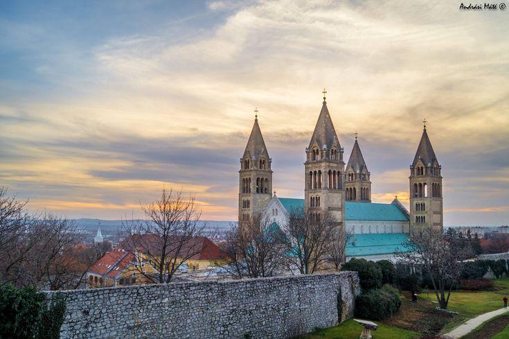 Pécs - Székesegyház - Andrási Máté fotója