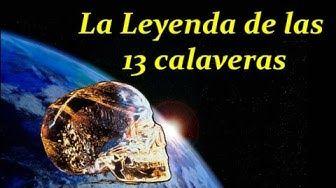 Leyenda Maya de las 13 Calaveras de Cristal